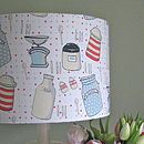 Kitchenalia lampshade 16""
