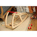Handmade Wooden Rocker Toy