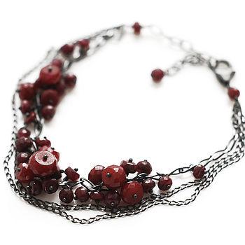 Triple Cluster Bracelet