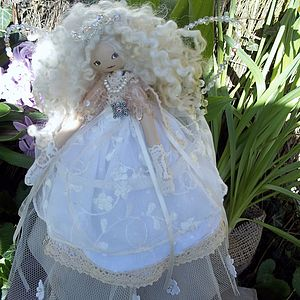 Vintage Fairy Wedding Keepsake Personalised - baby & child