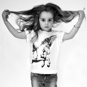 Flight Of Fancy Girl's T Shirt