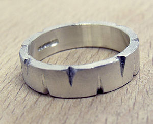ARTEMIS Sterling Silver Ring For Man - wedding jewellery