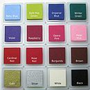 ink pads available in these colours