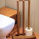Cricket Wicket Loo Roll Holder