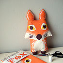 Fox Organic Cotton Tea Towel