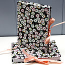 Liberty Leo Scarlet Print Address Book