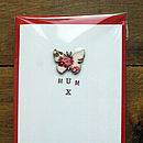Floral Butterfly Mum Birthday Card