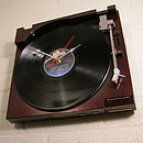 Retro Sony Record Player Clock