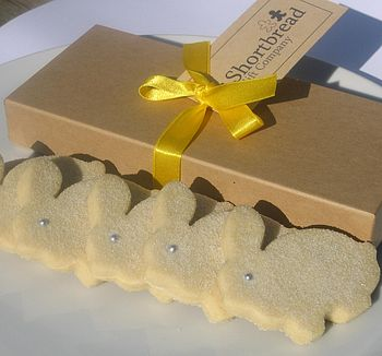 Easter Bunny Shortbread Biscuit Box
