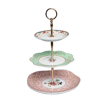 Vintage Style Three Tier Cake Stand