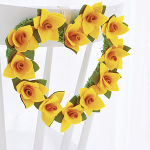 Daffodil Easter Wreath - easter