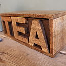 Mango Wooden Tea Drawer