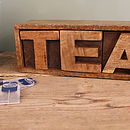 Mango Wooden Tea Drawer