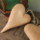 Mango Wooden Heart Decoration