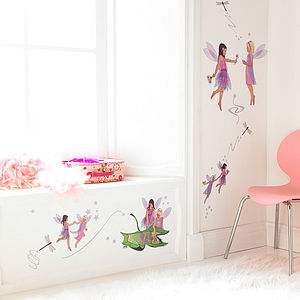 Friendship Fairies Wall Stickers Set - dining room
