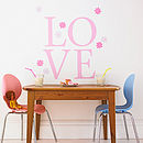 Giant Pink Polka Wall Letters