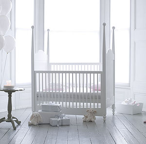 Hestia Four Poster Cot Bed