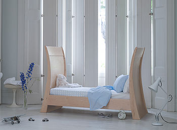 Arcadia Modern Sleigh Cot Bed