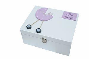 Christening Box Personalised For Baby Girl