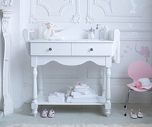 Hestia Dresser And Changing Table - baby changing