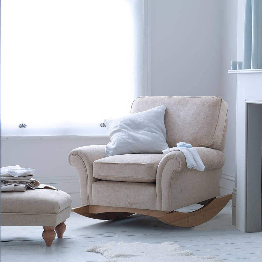 morpheus nursery rocking chair by bambizi  notonthehighstreet.com
