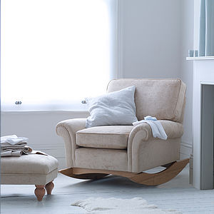 Morpheus Nursery Rocking Chair - living room