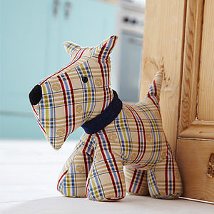 Dog Door Stop - living room