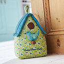 Bird House Door Stop Theme