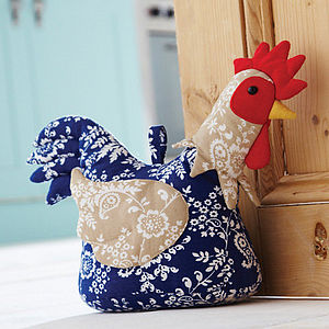 Chicken Door Stop - door stops & draught excluders