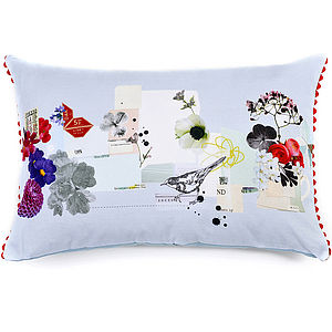 Bottle Garden Cushion - patterned cushions