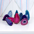 Agate slice party gifts x 10