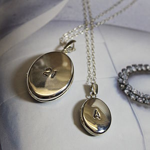 Personalised Locket - necklaces & pendants