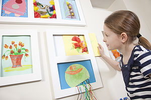 Child's Double Art Frame - picture frames