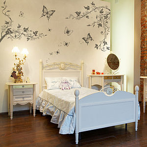 Butterfly Scenery Wall Stickers - children's room accessories