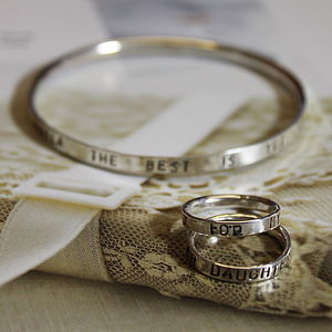 Personalised Script Ring - rings