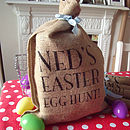 Personalised Easter Egg Hunt Sack