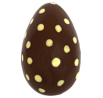 Hollow Dotty Chocolate Easter Egg