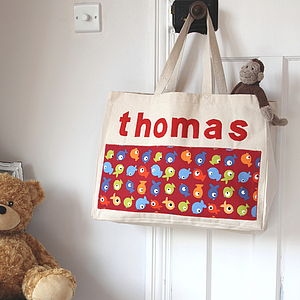 Personalised Children's Name Bag