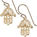 Fatima Gold Plated Earrings