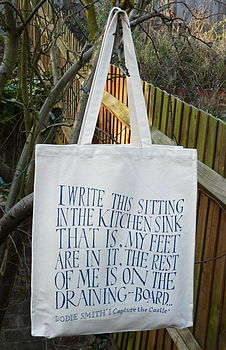 'I Capture The Castle' Shopping Bag