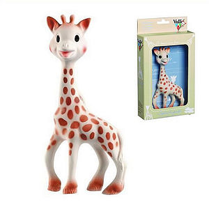 100% Natural Sophie The Giraffe Teether - essential baby gifts