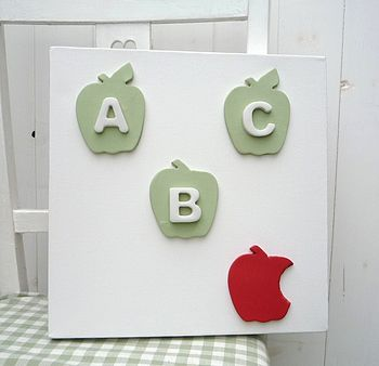 ABC Apple Canvas