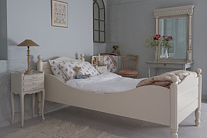 Georgina Sleigh Bed
