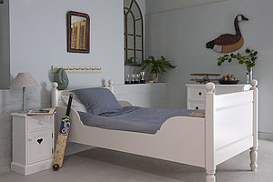 Alexander Sleigh Bed - children's room