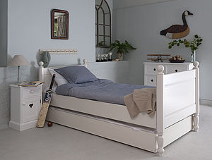 Trundle Underbed And Mattress - bedroom