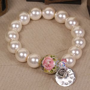 Pearl Bracelet Personalised With Full Name - bracelets & bangles