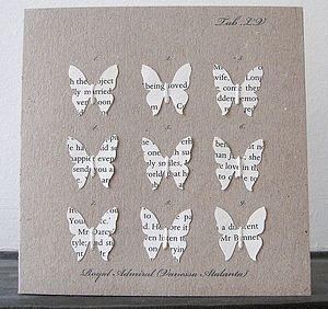 Book Butterfly Case Card