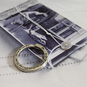 Personalised Keyring - keepsakes