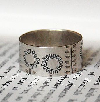 Sterling Silver Summer Ring