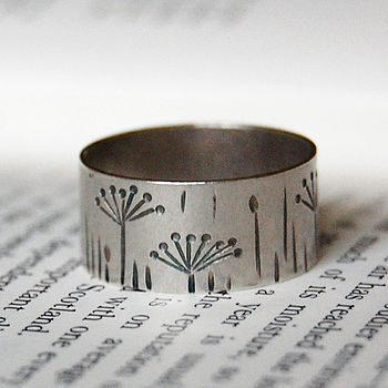 Sterling Silver Autumn Ring
